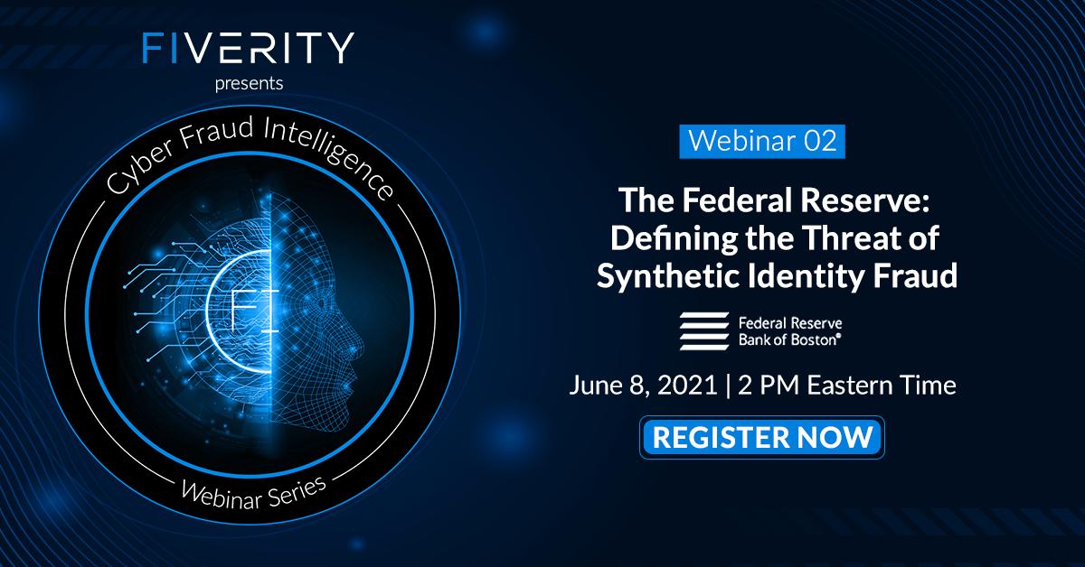 Federal Reserve Webinar on Synthetic Identity Fraud