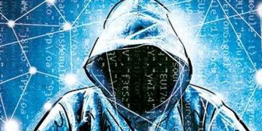 Hooded Financial Services Cyber Fraudster