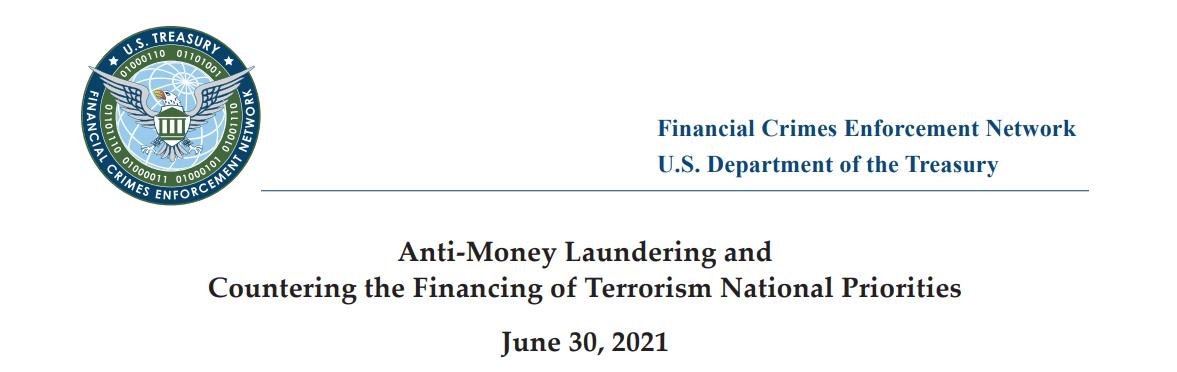 Financial Crimes Enforcement Network (FinCEN) AML Priorities