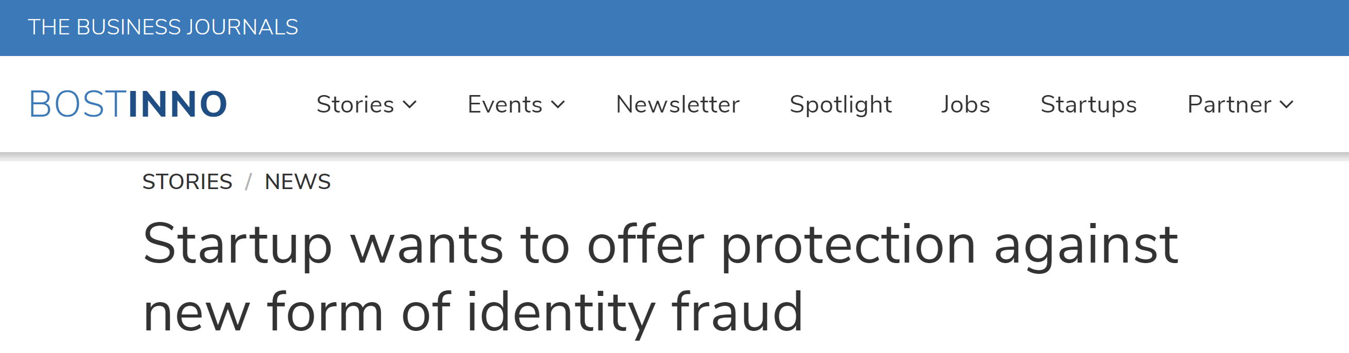 BostInno article on synthetic identity fraud featuring FiVerity