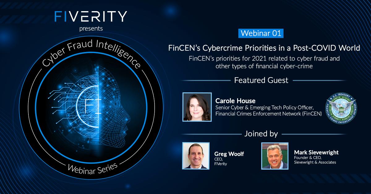 FinCEN Webinar on Synthetic Identity Fraud